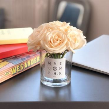 bouquet mignon blanc