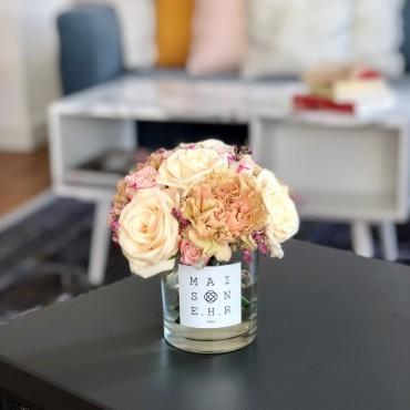 bouquet mignon rose